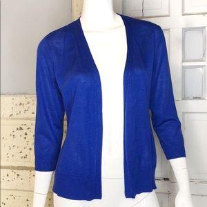 Royal Blue Cardigan Verve Ami EUC sz M